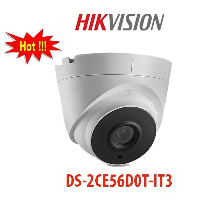 [BẢO HÀNH 24 THÁNG] Camera HIKVISION DS-2CE56D0T-IT3 3.0Mp – Camera giám sát an ninh – Công Nghệ Hoàng Nguyễn