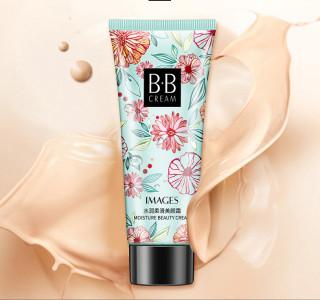 Kem Nền HOA NHIỆT ĐỚI BB cream Images 30g mềm mịn lâu trôi che phủ tốt nội địa chính hãng CC cream Makeup Foudation thumbnail