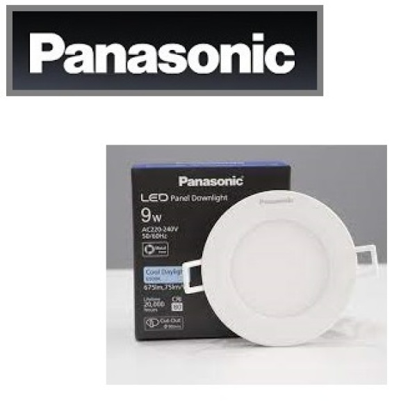 PANASONIC - Led âm trần 9w - NNNC7655188 / NNNC7651188 - Đèn led downlight 9w DÒNG EZ SERIES - lỗ khoét 90 mm / NNNC