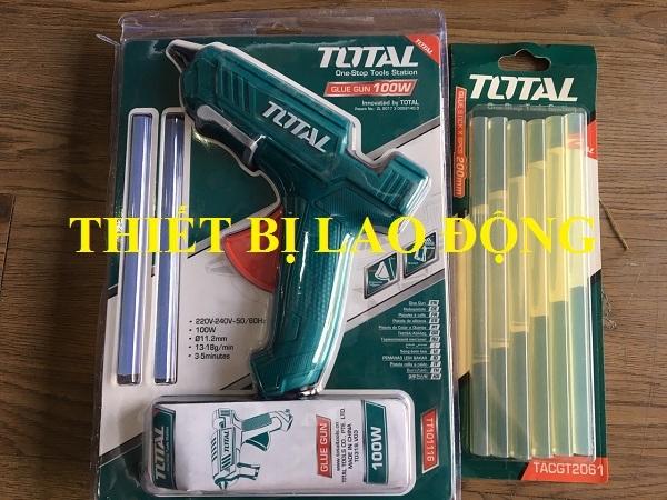 Dụng cụ bắn keo Total TT101116+Nhựa Hàn Total TACGT2061 - TACGT2061TT101116