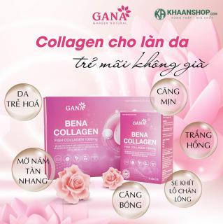 Bổ Sung Collagen Dạng Bột BENA COLLAGEN GANA Hộp 30 Gói thumbnail