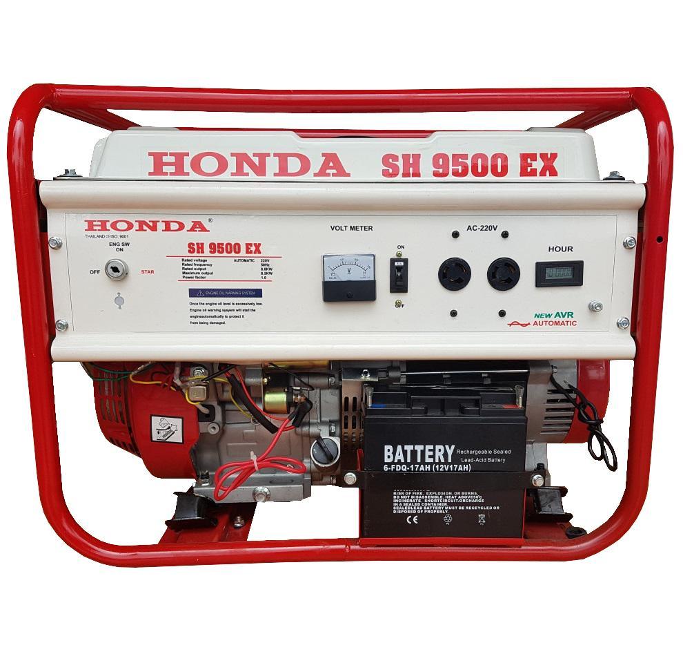 Máy Phát Điện Honda 8kw SH9500 Chạy Xăng & Đề Nổ