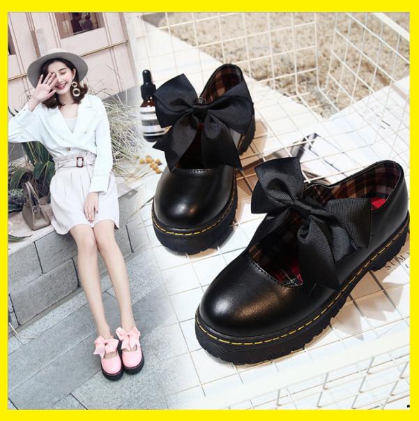 Giày Lolita, giày oxford phối nơ HOT TREND giá rẻ