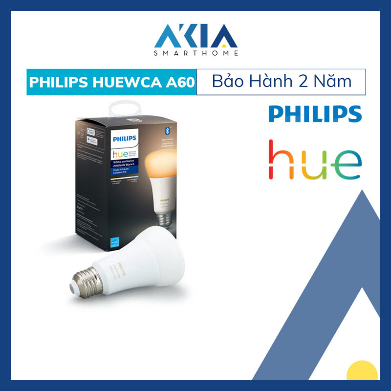 Bóng Đèn Thông Minh Philips HueWCA 8.5W A60 E27 - Hàng Chính Hãng