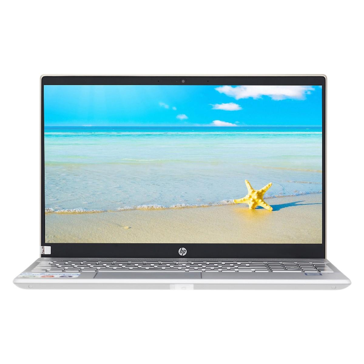 Laptop HP Pavilion 15-cs0018TU 4MF09PA Core i5-8250U/Win10 (15.6 inch) (Gold)