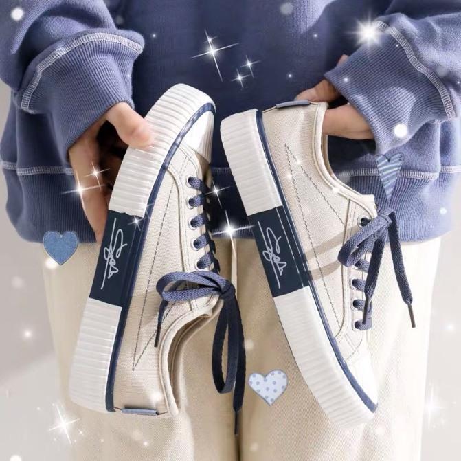 Giày vải nữ đế bằng giá rẻ