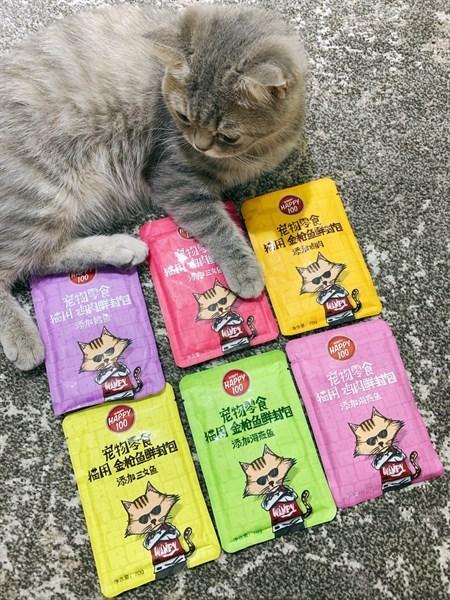 [HCM]Pate Wanpy Happy 100 cho mèo