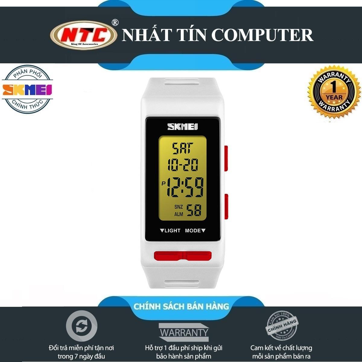 Đồng hồ thể thao nam nữ SKMEI 1362 (dây khớp nhựa, điện tử, chống nước 5ATM) bán chạy