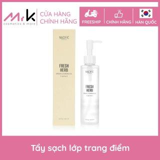 [Xả kho] Dầu tẩy trang làm dịu da Nacific Fresh Herb Origin Cleansing Oil chính hãng Hàn Quốc, làm sáng da 150ml thumbnail