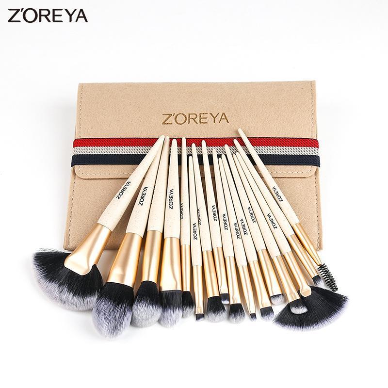 Bộ 16 cọ makeup cá nhân ZOREYA