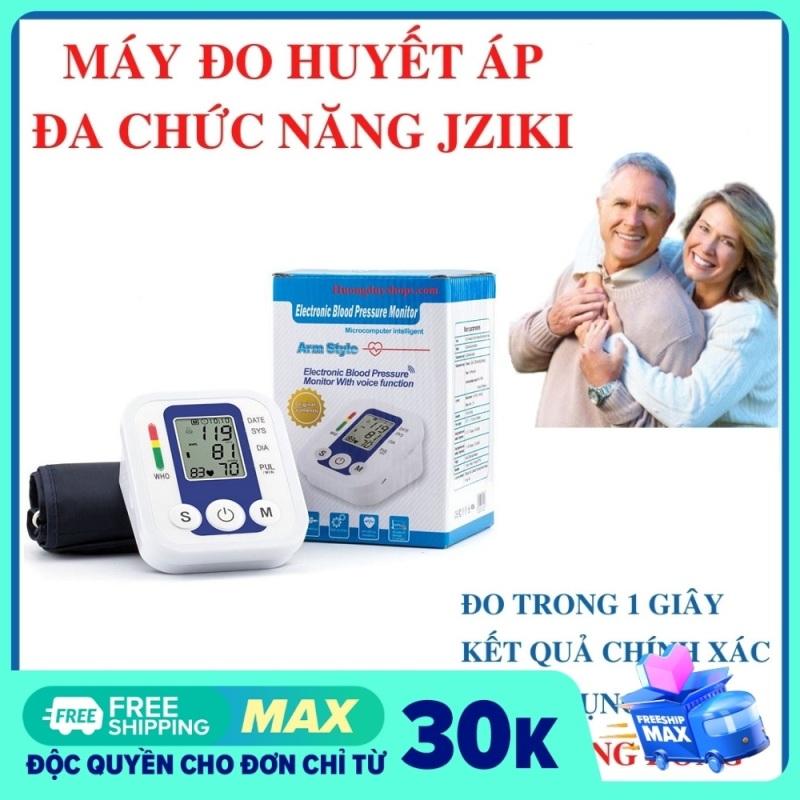 Nơi bán máy đo huyết áp jziki nhập khẩu của đức mang lại độ chính xác cao. Ứng dụng công nghệ MAM thông minh