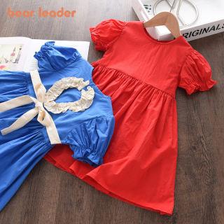 Đầm Công Chúa Bé Gái Lãnh Đạo Gấu, Vestidos Thời Trang Mùa Hè Khoét Lưng Trang Phục Thắt Nơ Thắt Lưng Cho Bé Gái Đầm Thường Ngày Cho Trẻ Em, 2-6Y