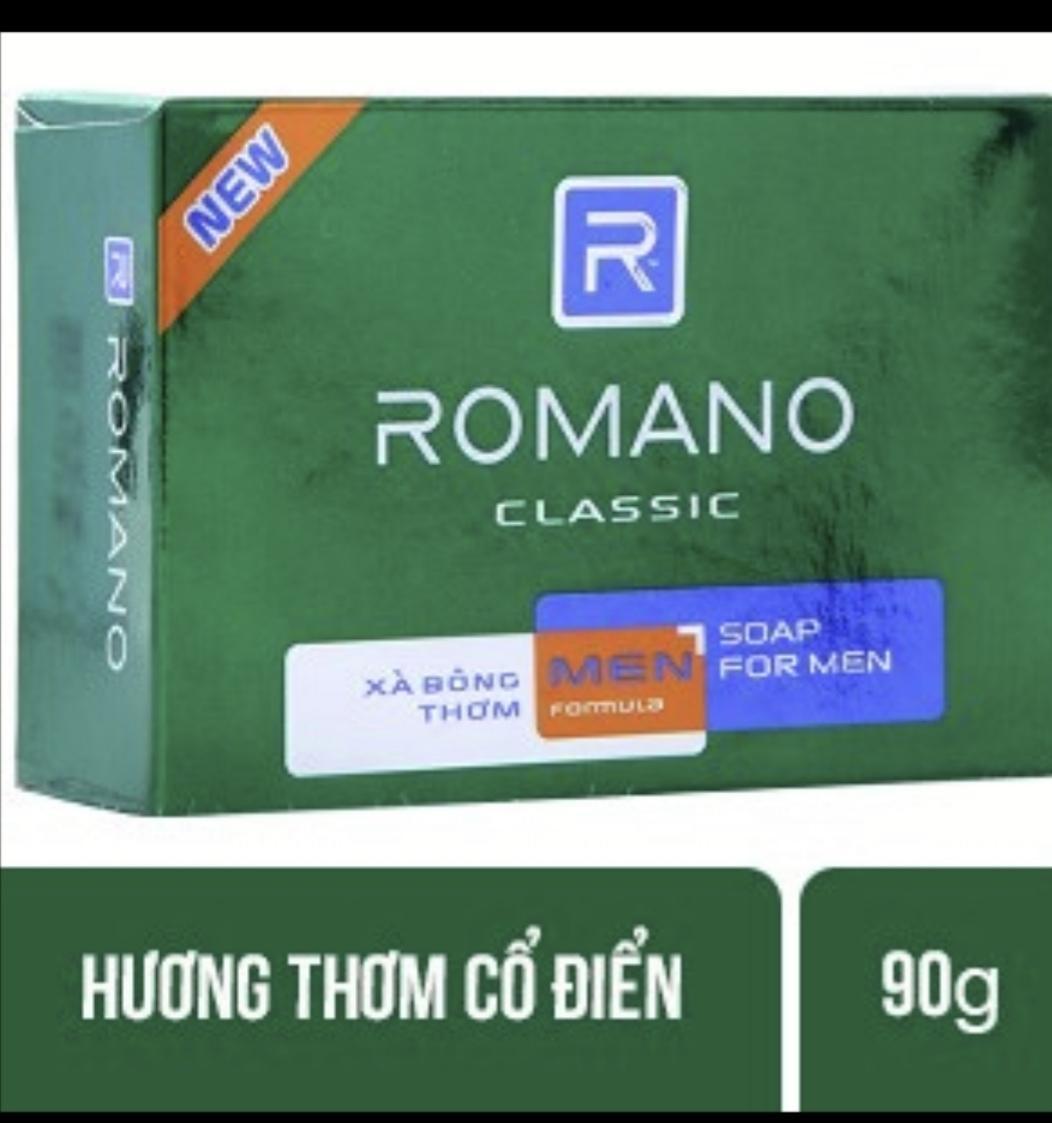 Xà phòng Romano Classic Hương cổ điển, 90g nhập khẩu