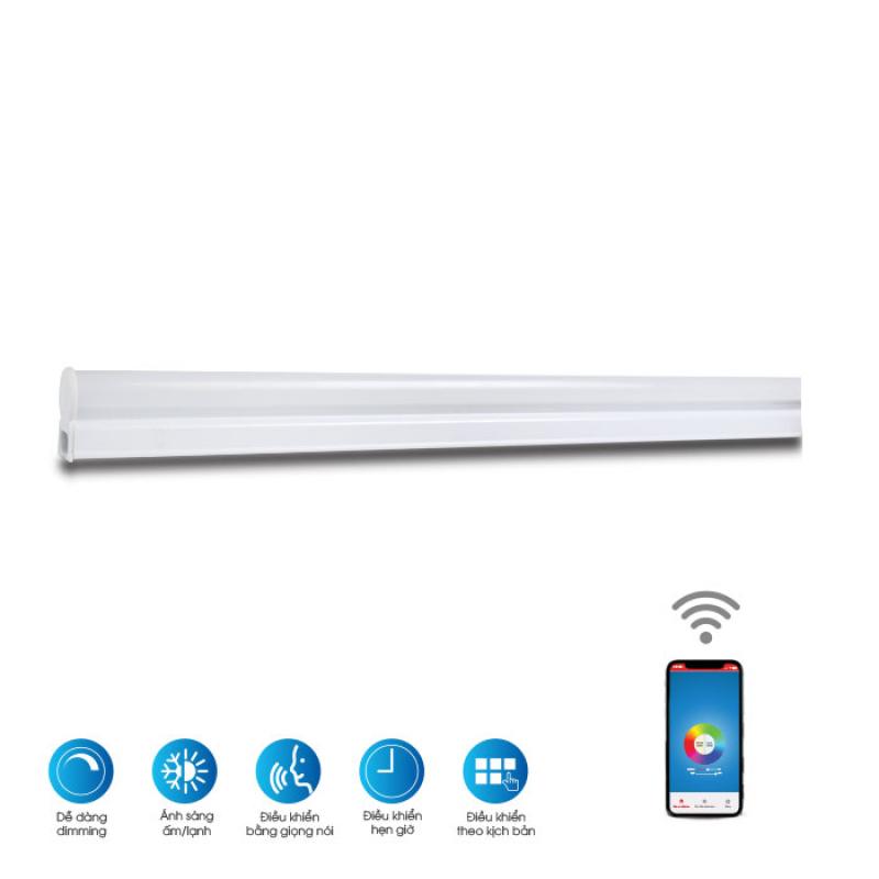 Bộ đèn LED tuýp wifi Chính hãng Rạng Đông Siêu tiết kiệm điện Dễ dàng lắp đặt Cho ánh sáng đẹp Giải pháp cho smart house BD LT04 N02 120/16W.WF