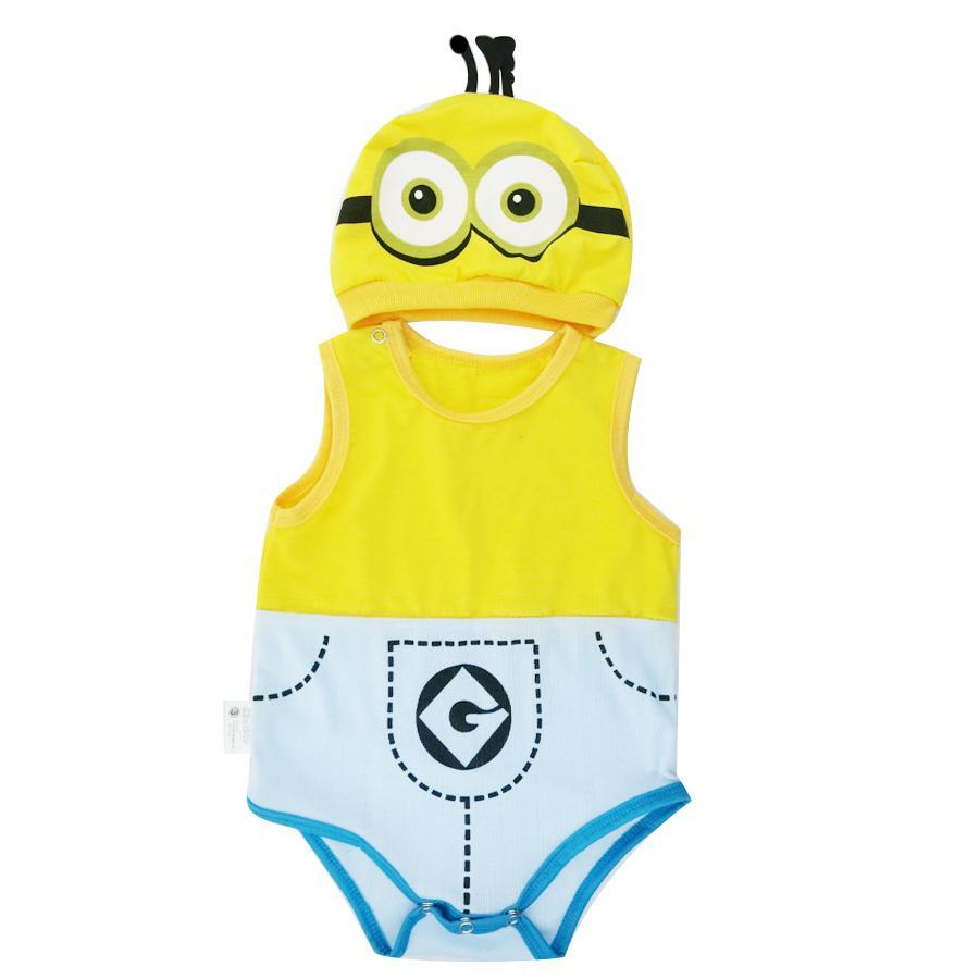 Bộ Bodysuit Hình Minion cực kỳ đáng yêu cho bé trai và gái - BDS10_MINION# - Mihababy