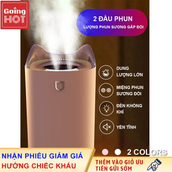 Máy phun sương tạo độ ẩm không khí dung tích lớn 3300ml(Chỉ cần sử dụng 1 -2 giọt tinh dầu, nếu sử dụng quá liều sẽ gây hư hại sản phẩm)