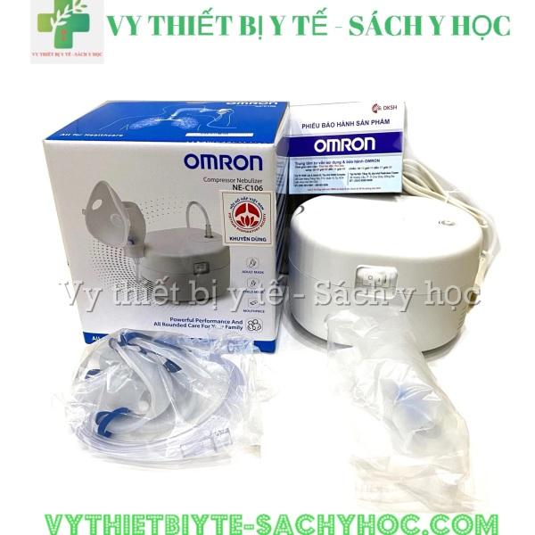 [Lấy mã giảm thêm 30%]Máy xông mũi họng omron NE-C106 cao cấp