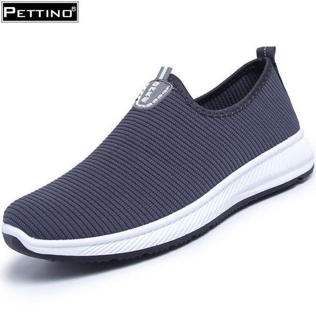 Giày lười nam, giày lười vải bốn mùa, thoáng khí đế bệt năng động, trẻ trung PETTINO - LLPZL03 giá rẻ