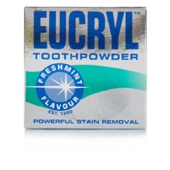 Bột tẩy trắng răng Eucryl Toothpowder