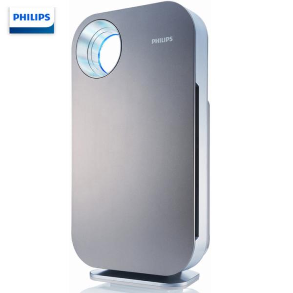 Máy lọc không khí cao cấp Philips AC4074/01 với cảm biến chất lượng không khí 4 màu, công suất 47W ( Màu xám)