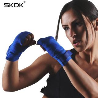 Băng đa quấn tay bằng vải tập võ thuật boxing MMA HS055 dài 5m (1 đôi) thumbnail