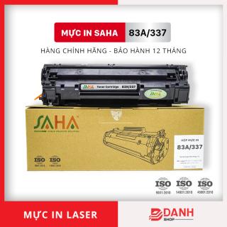 Hộp mực in SAHA 83A 337- Dùng cho máy in HP Laser, Canon LBP - Bảo hành 12 tháng ( FULL BOX) Mực máy in Laser thumbnail