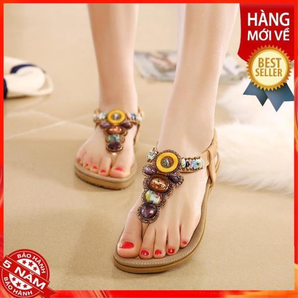 Giày sandal thổ cẩm-SD85 giá rẻ