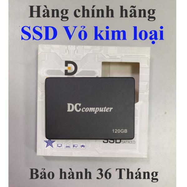 Bảng giá Ổ SSD 120GB DCcomputer Chính hãng Bảo hành 36T (Vỏ kim loại) Phong Vũ