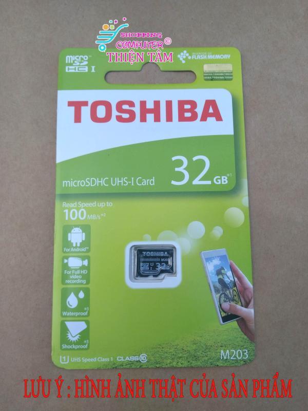 Thẻ nhớ MicroSDHC Toshiba M203 UHS-I U1 32GB 100MB/s