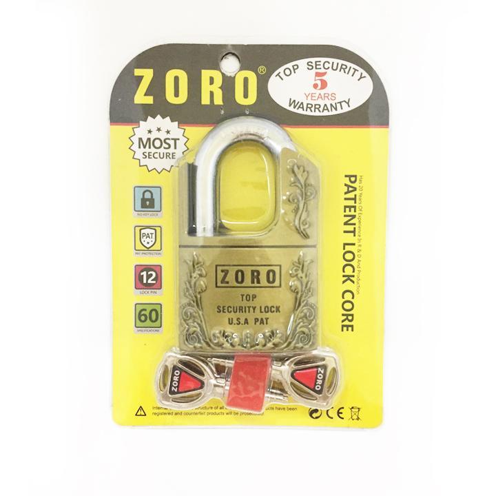 Ổ khóa chống cắt Zoro by Aztek
