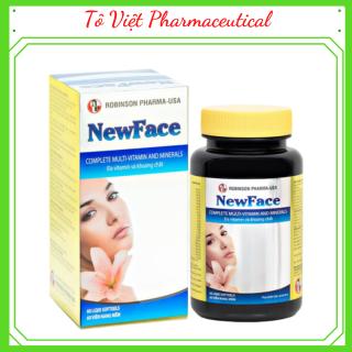 TPCN Bổ sung Mutivitamin , khoáng chất cần thiết cho bà bầu NEWFACE - Chai 60 viên thumbnail