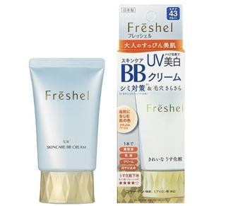 Kem trang điểm Freshel Kanebo BB cream 5in1 UV SPF43PA++ 50g thumbnail