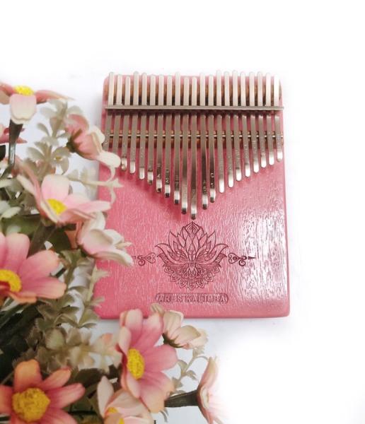 ĐÀN KALIMBA ARES A21PK 21 Phím màu hồng (Tặng túi chống sốc- CÓ VIDEO TEST ÂM)