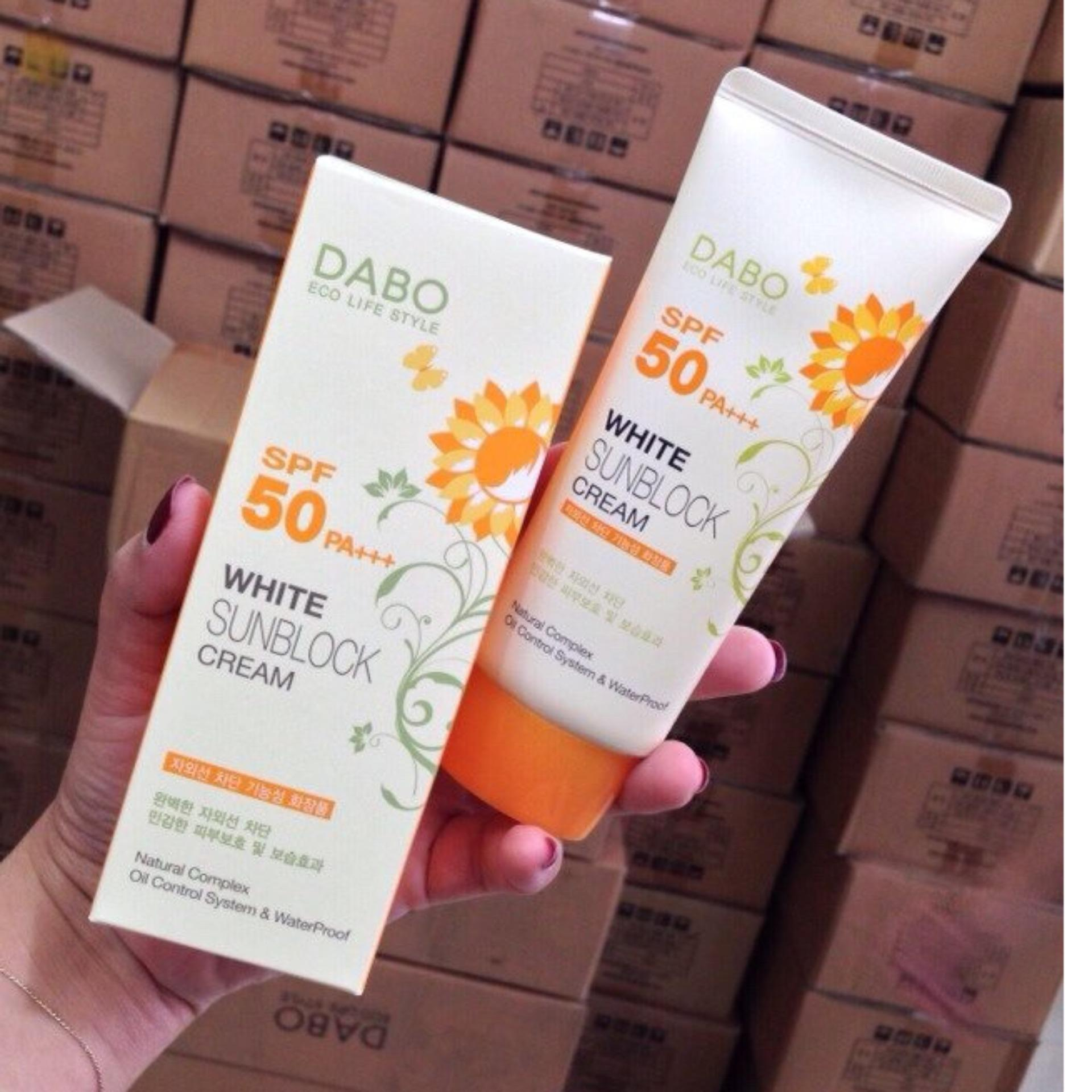 DABO Hàn Quốc Sunblock 70ml - Kem chống nắng và làm trắng