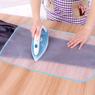 SDKIGVX Tấm Lót Ủi Bảo Vệ Bàn Ủi Gia Đình Giặt Ủi Nhiệt Độ Tấm Lót Ủi Vải Lưới Sắt Cách Nhiệt Tấm Lót Ép Vải, Quần Áo Nhiệt Độ Cao Tấm Ủi Bàn Là thumbnail