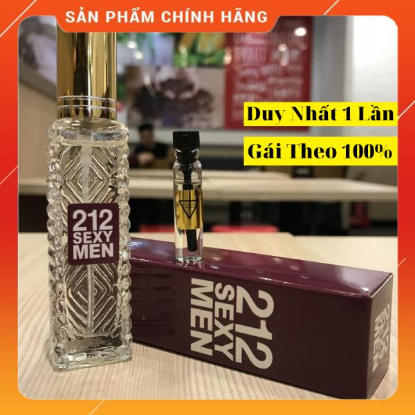Nước Hoa Nam Thơm Lâu 212 Sexy 20ml Gợi Cảm Quyến Rũ- Xịt Là Mê, Giao Hàng Kín Đáo, Bảo Hành 12 tháng nhập khẩu