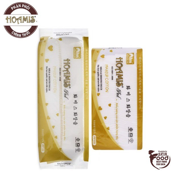 Bông Tẩy Trang Cao Cấp Hoamis Pad Makeup Cotton giá rẻ