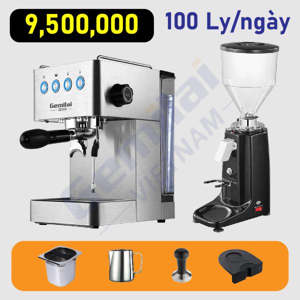 Bảng giá Combo máy pha cafe Gemilai 3005E Điện máy Pico
