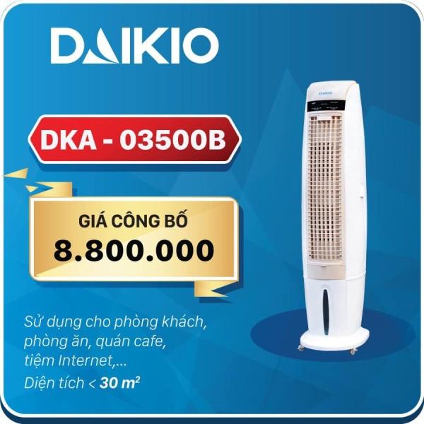 Bảng giá Máy làm mát không khí Daikio DKA-3500B