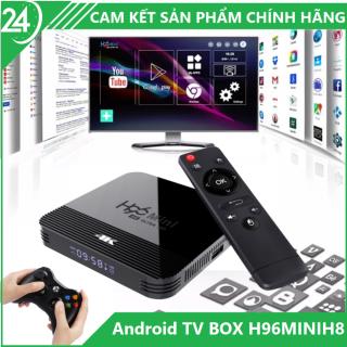 Android TV BOX H96MINIH8 RAM 2G Bộ Nhớ 16G, Xem Phim 4K, Chơi GAME, Hỗ Trợ Tính Năng Tìm Kiếm Bằng Giọng Nói [BẢO HÀNH 12 THÁNG] thumbnail