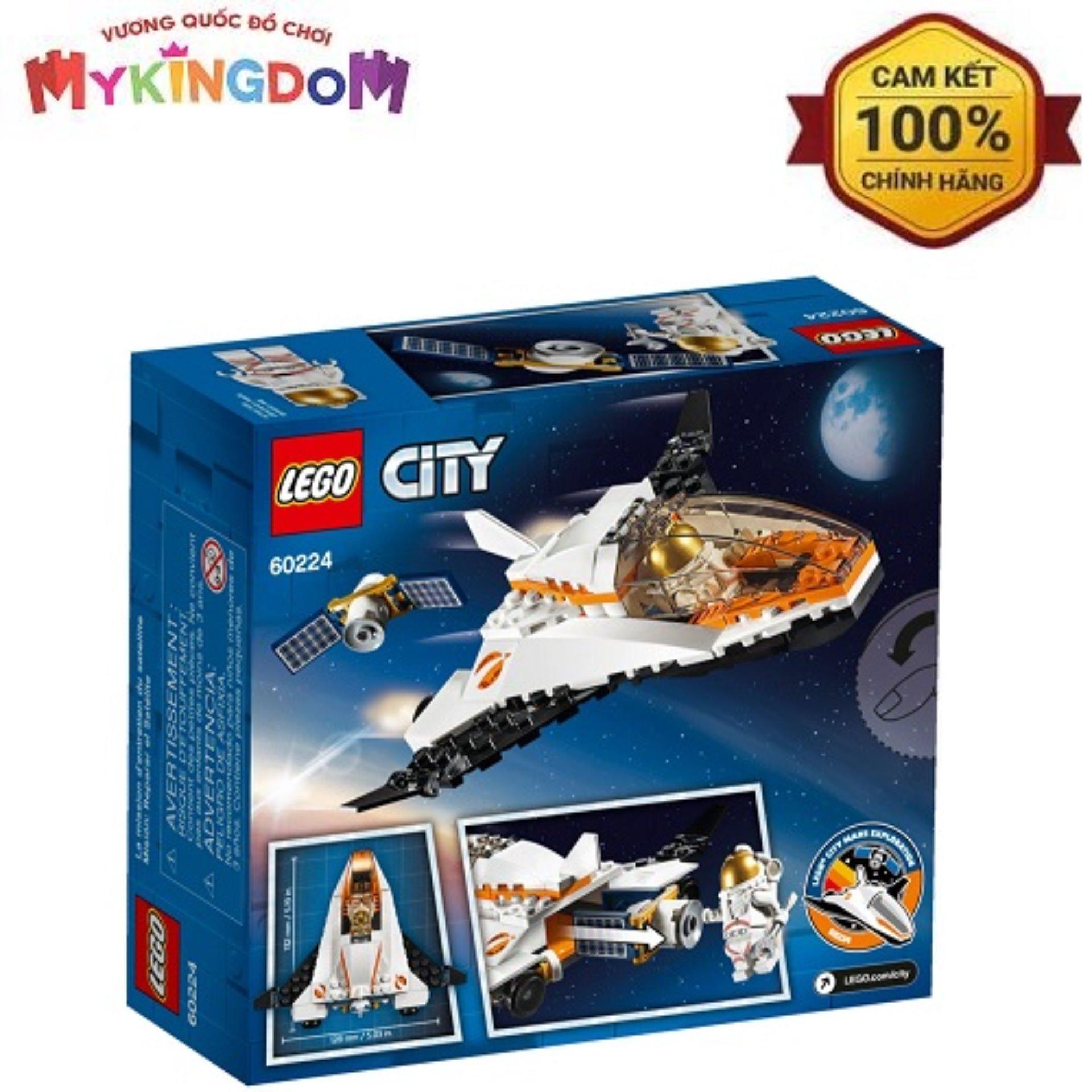 Trạm Dịch Vụ Vệ Tinh LEGO 60224 Giá Quá Ưu Đãi