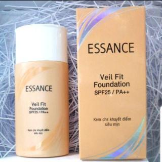 Kem nền trang điểm dưỡng trắng essance veil fit foundation MÀU TỰ NHIÊN S20PF PA thumbnail
