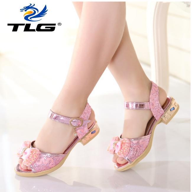Giá bán Sandal Hàn Quốc siêu dễ thương cho bé gái Đồ Da Thành Long TLG 20706