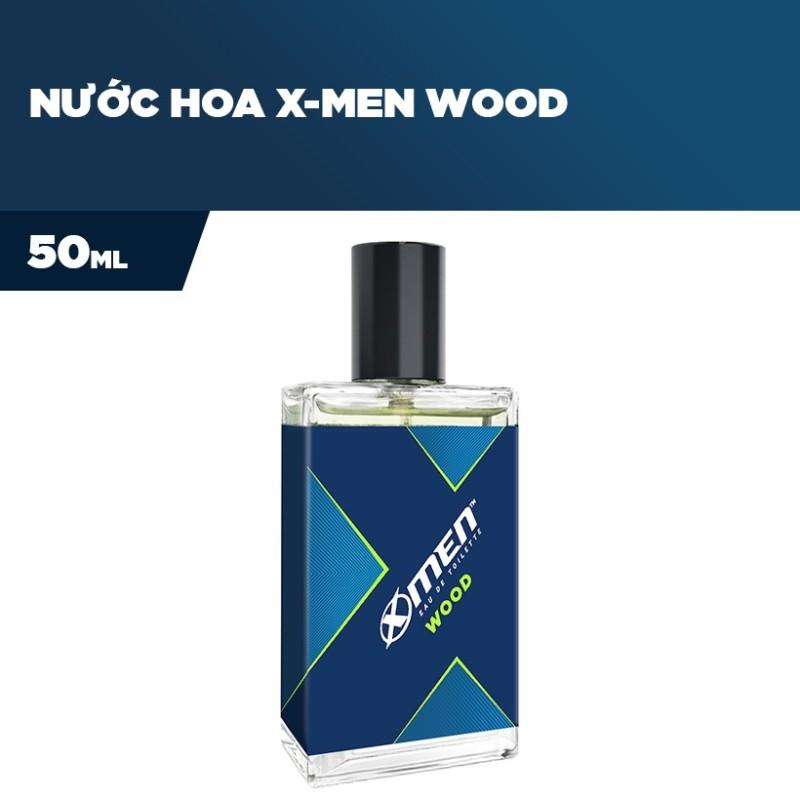 NƯỚC HOA XMEN WOOD 50ML   TẶNG KÈM 2 GÓI DẦU GỘI XMEN WOOD   DLS