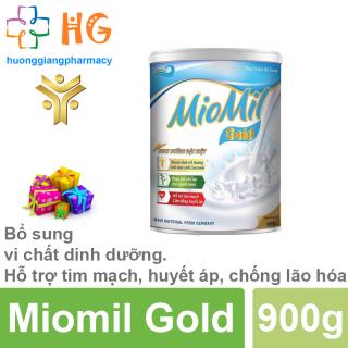 Sữa Miomil Gold - Bổ sung vi chất dinh dưỡng. Hỗ trợ tim mạch, huyết áp, chống lão hóa (Hộp 400g) thumbnail