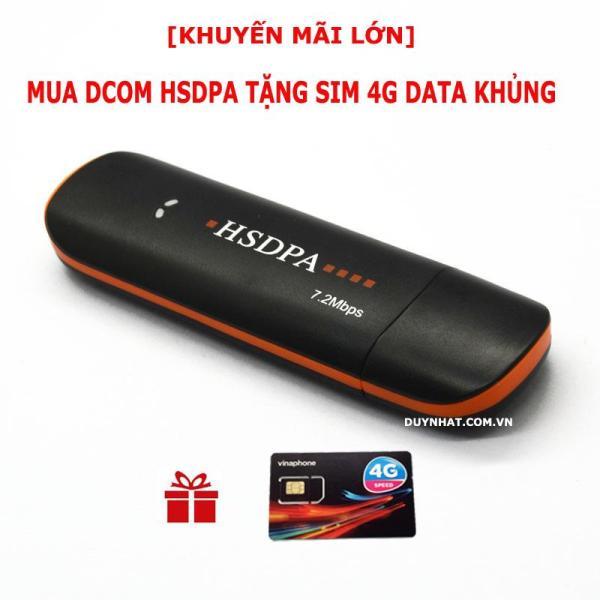 Bảng giá DCOM 3G 4G HSDPA HÀNG CHUẨN,BẢO HÀNH 12 THÁNG,TẶNG SIM 4G VINA Phong Vũ