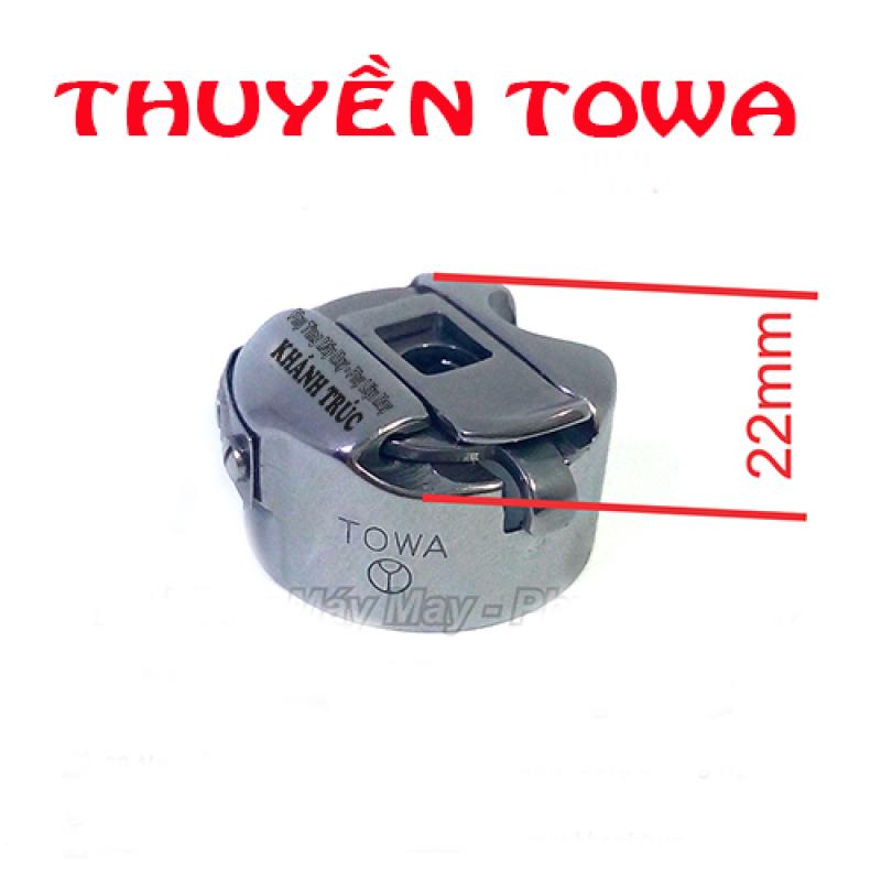 Thuyền Nhật TOWA dùng máy 1kim máy may công nghiệp và máy mini đa năng