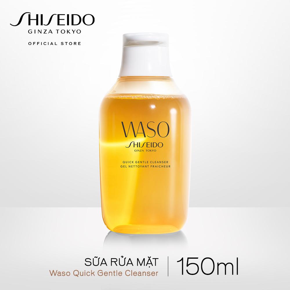 Sữa rửa mặt Shiseido WASO Quick Gentle Cleanser 150ml