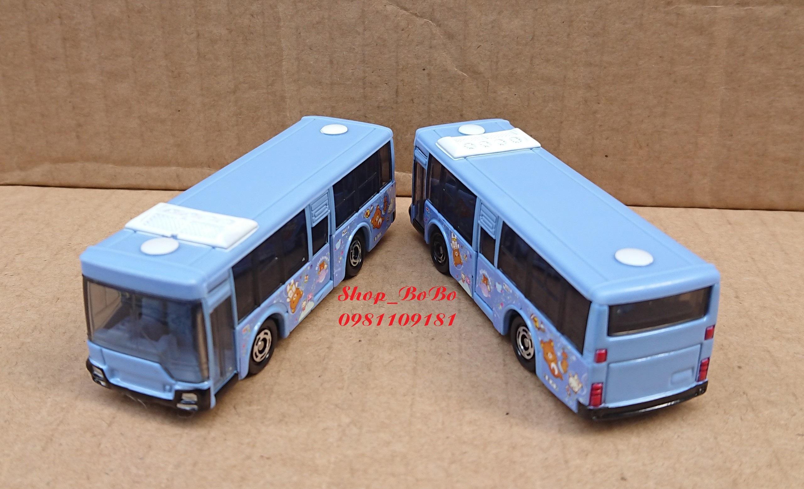Tiết Kiệm Cực Đã Khi Mua Xe Mô Hình Tomica - Xe Bus Mitsubishi Fuso Màu Xanh