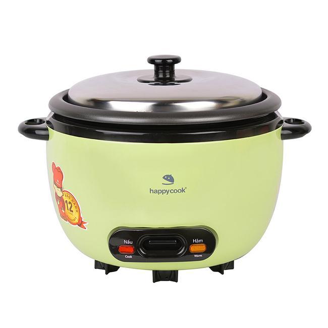 Nồi cơm điện nắp rời cơ Happy Cook 0.6L HCD-061A